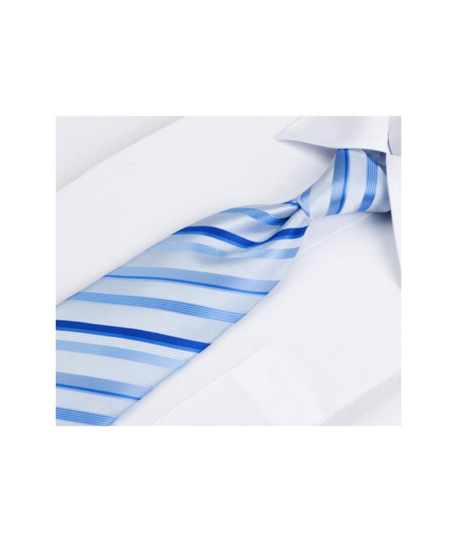 coffret dallas cravate bleu ciel rayures bleu lectrique et bleu roi cravate co. Black Bedroom Furniture Sets. Home Design Ideas