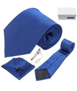 coffret le cap cravate bleu roi cravate co. Black Bedroom Furniture Sets. Home Design Ideas