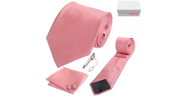 Coffret Melbourne - Cravate rose